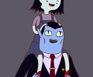 adventure time, vampire, and young image