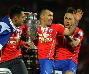 chile, champions, and 2015 image