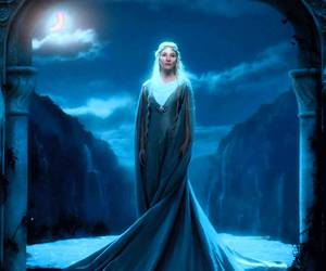 tolkien and galadriel. the hobbit image
