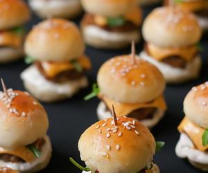 food, burger, and mini image