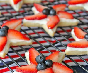 dessert, blueberry, and food image