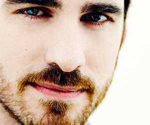 once upon a time, colin o'donoghue, and blue eyes image
