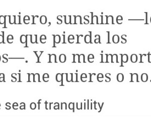 frases en español, the sea of tranquility, and frases de libros image