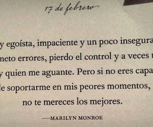 Marilyn Monroe and frases image