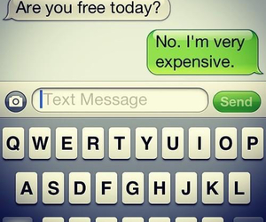 text, funny, and free image