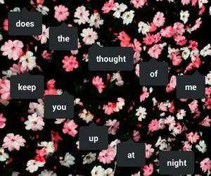 band, flowers, and Lyrics image