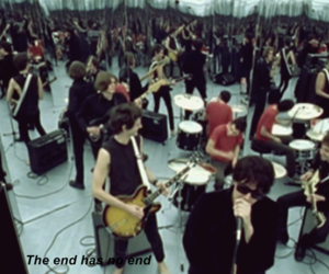 the strokes and the end has no end image