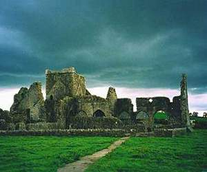 ireland, landscape, and hore abbey image