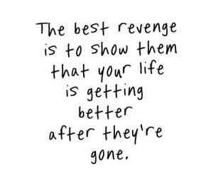quotes, revenge, and life image