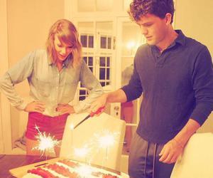 Taylor Swift, austin swift, and cake image