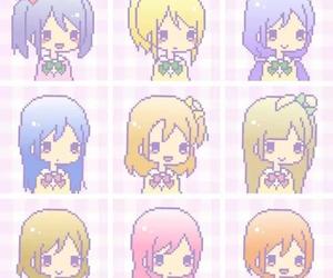 anime, kawaii, and pixel image