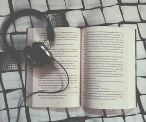 books, music, and read image