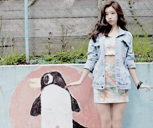girl's day, sojin, and penguin image