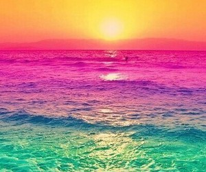 sea, sun, and colors image