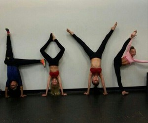 love, dance, and friends image