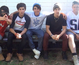 luke brooks, janoskians, and beau brooks image