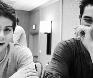 tyler hoechlin, teen wolf, and dylan o'brien image