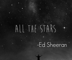 ed sheeran and all the stars image