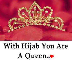 hijab crown queen image