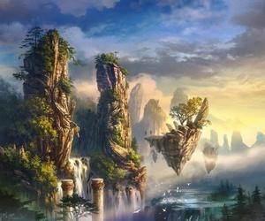 fantasy and landscape image