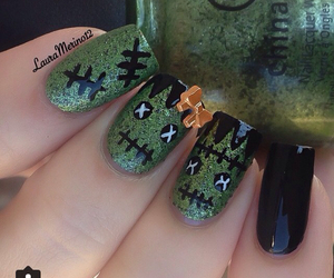Halloween, nail, and nails image