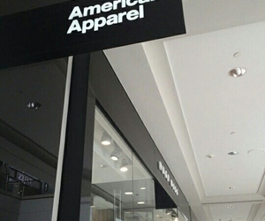 american apparel, black, and aesthetic image