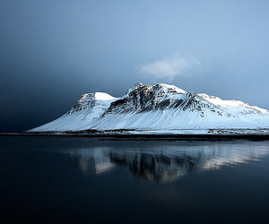 bravo, iceland, and mountain image
