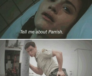 teen wolf, parrish, and lydia martin image