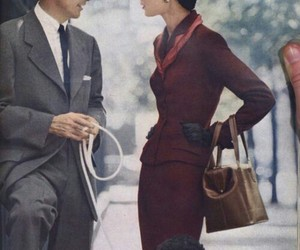 vintage, dog, and style image