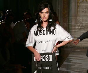 fashion, katy perry, and Moschino image