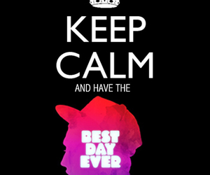 mac miller, best day ever, and keep calm image