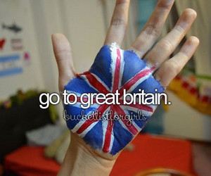 bucketlist, girly, and Great Britain image