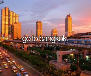 bangkok, thailand, and travel image