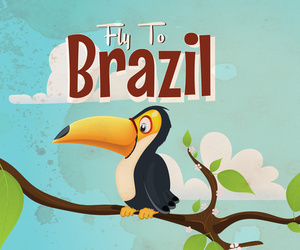 classic, brazil vacation, and fly+to+brazil image