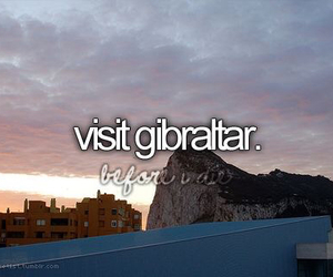 gibraltar, travel, and visit image