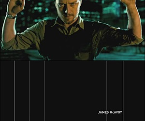 actor, james mcavoy, and welcome to the punch image