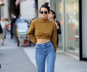 model, kendall jenner, and street style image