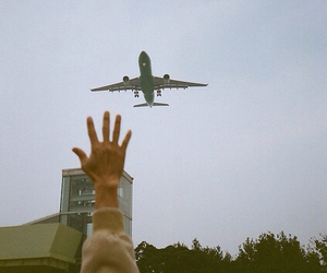 indie, vintage, and airplane image