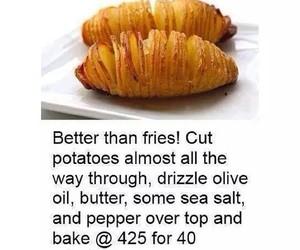 food, potato, and fitness image