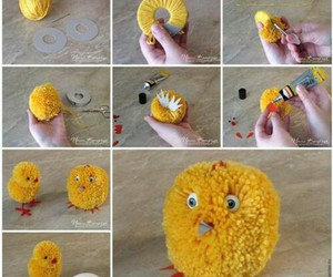 diy, Chick, and crafts image