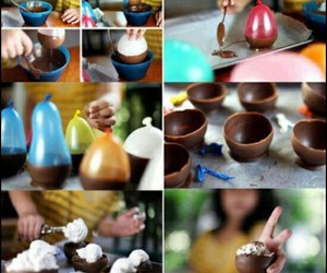 chocolate, diy, and food image