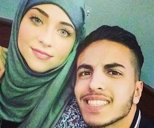 muslim, couple, and cute image