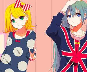 anime, vocaloid, and cute image
