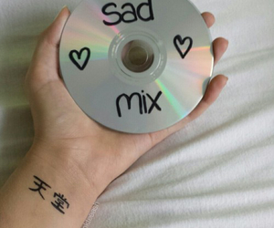 grunge, music, and sad image