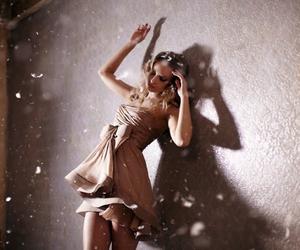 dress, girl, and model image