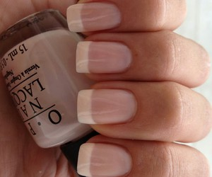nail and french manicure image
