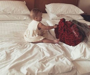 baby, style, and bed image