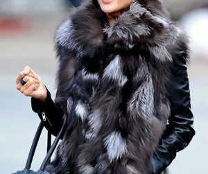 fashion, alessandra ambrosio, and fur image