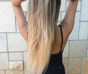 blond, hair, and summer image