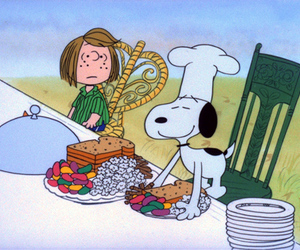 cartoon, peanuts, and cooking image
